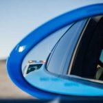 siren in rear view mirror