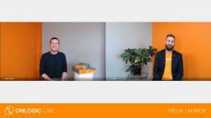 OnLogic Live Helix Launch Screen shot