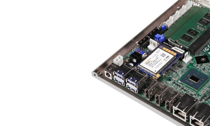 Motherboard with wireless card