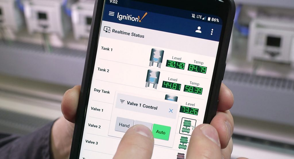 Ignition mobile interface