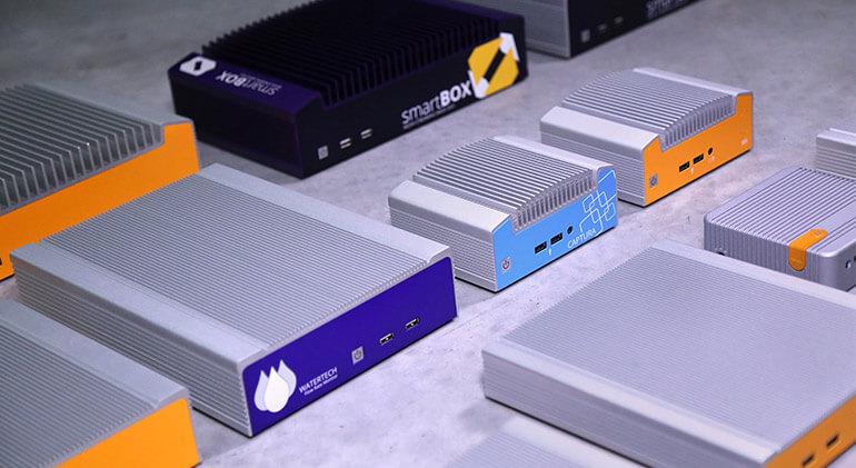Custom branded industrial computer
