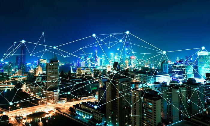 Connected devices at the edge in a smart city