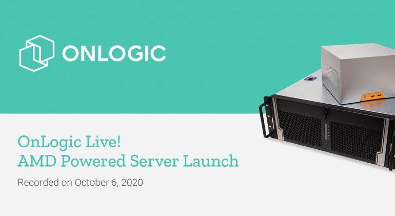 OnLogic Live! AMD Powered Server Launch