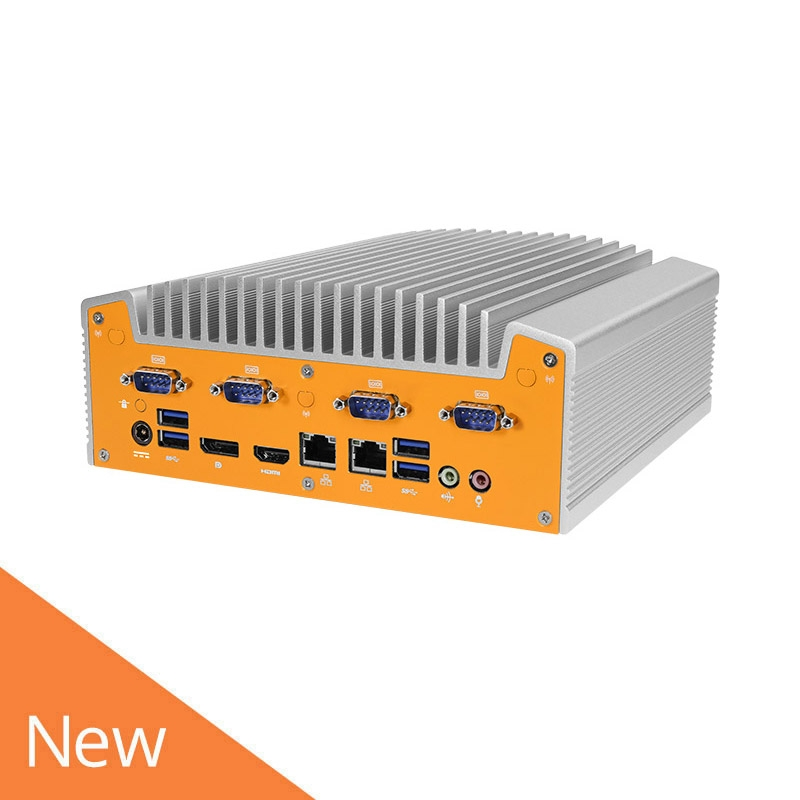 Fanless Core i3/i5/i7 Industrial Edge Device