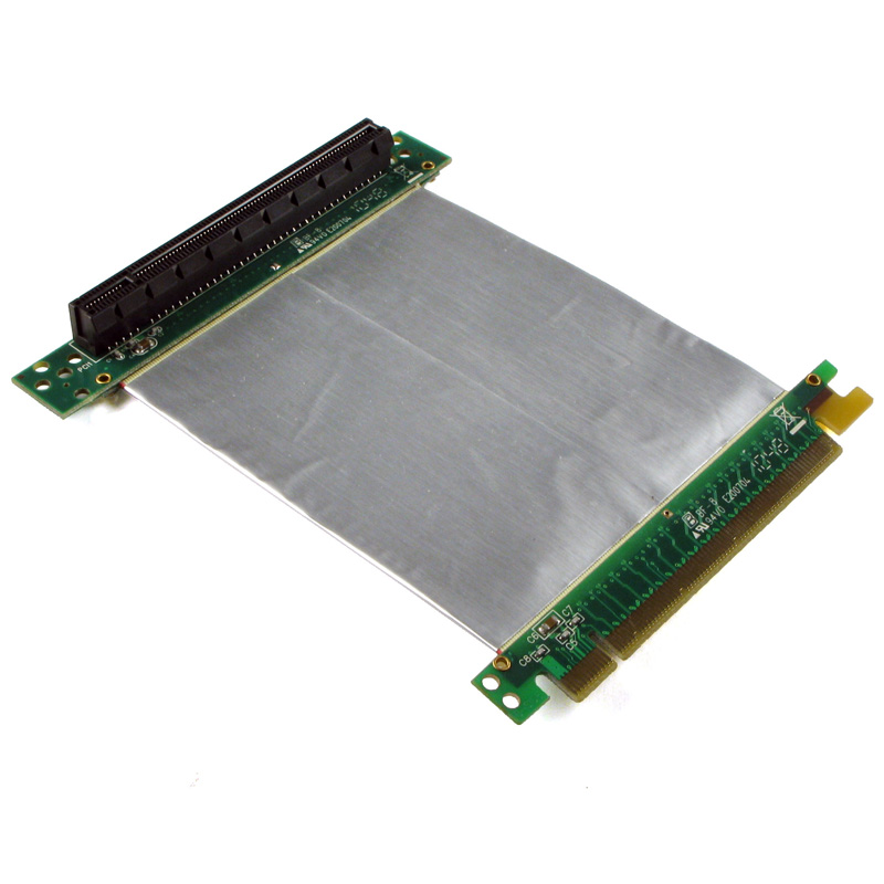 Pci express 2.0 card in pci express x16 slot