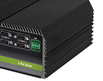Cincoze DE-1001-30 Rugged Intel Atom Fanless Computer