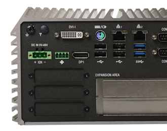 Cincoze DS-1002 Rugged Intel Haswell Fanless Computer with Dual Expansion