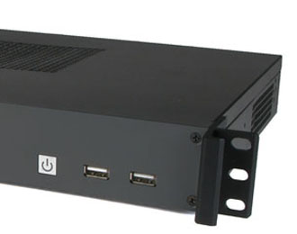 Intel Ivy Bridge 1U Rackmount Computer