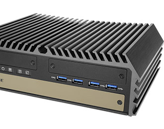 Cincoze lüfterloser Rugged-PC mit 6./7. Gen  Intel® Xeon® / Core™