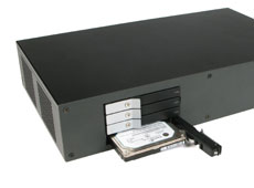 MC601 Mini-ITX Case With Hot Swap Bays