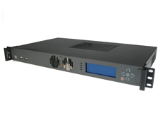 MK103 1U Rackmount Case with LCD screen