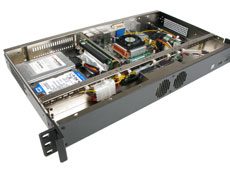 Quality designed MK103 1u rackmount case with cable management