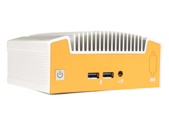 Fanless industriële NUC pc
