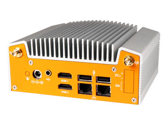 ML100G-10 Industrial Fanless NUC I/O