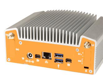 Broadwell Industrial Fanless NUC Computer I/O
