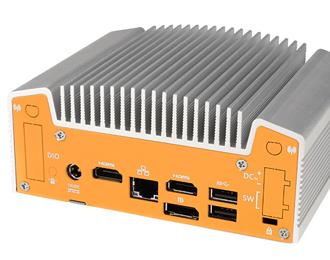 ML100G-50 Industrial Intel Skylake Fanless NUC Computer I/O