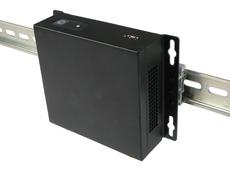 NC210 Intel NUC Case DIN rail mounted