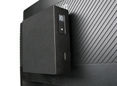 NC210 Intel NUC Case VESA mounted