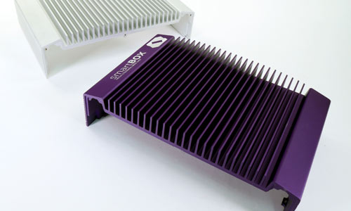 Custom Color Heatsink and Logo