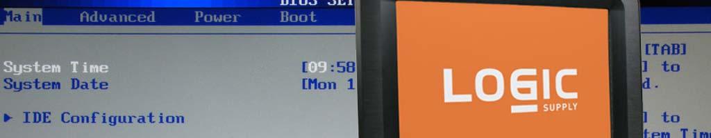 BIOS Customizations