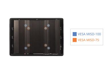 VESA mounting on Panel PC