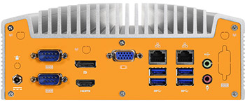 Industrial Intel® 6th Gen Fanless Computer w/optional Core™ i7
